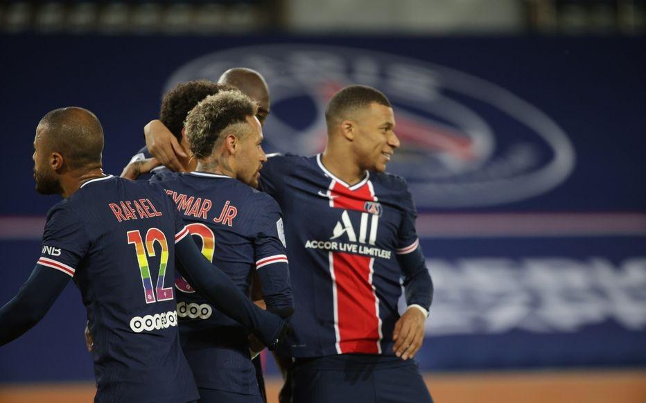 باريس سان جرمان يواصل مطاردته لقب الدوري